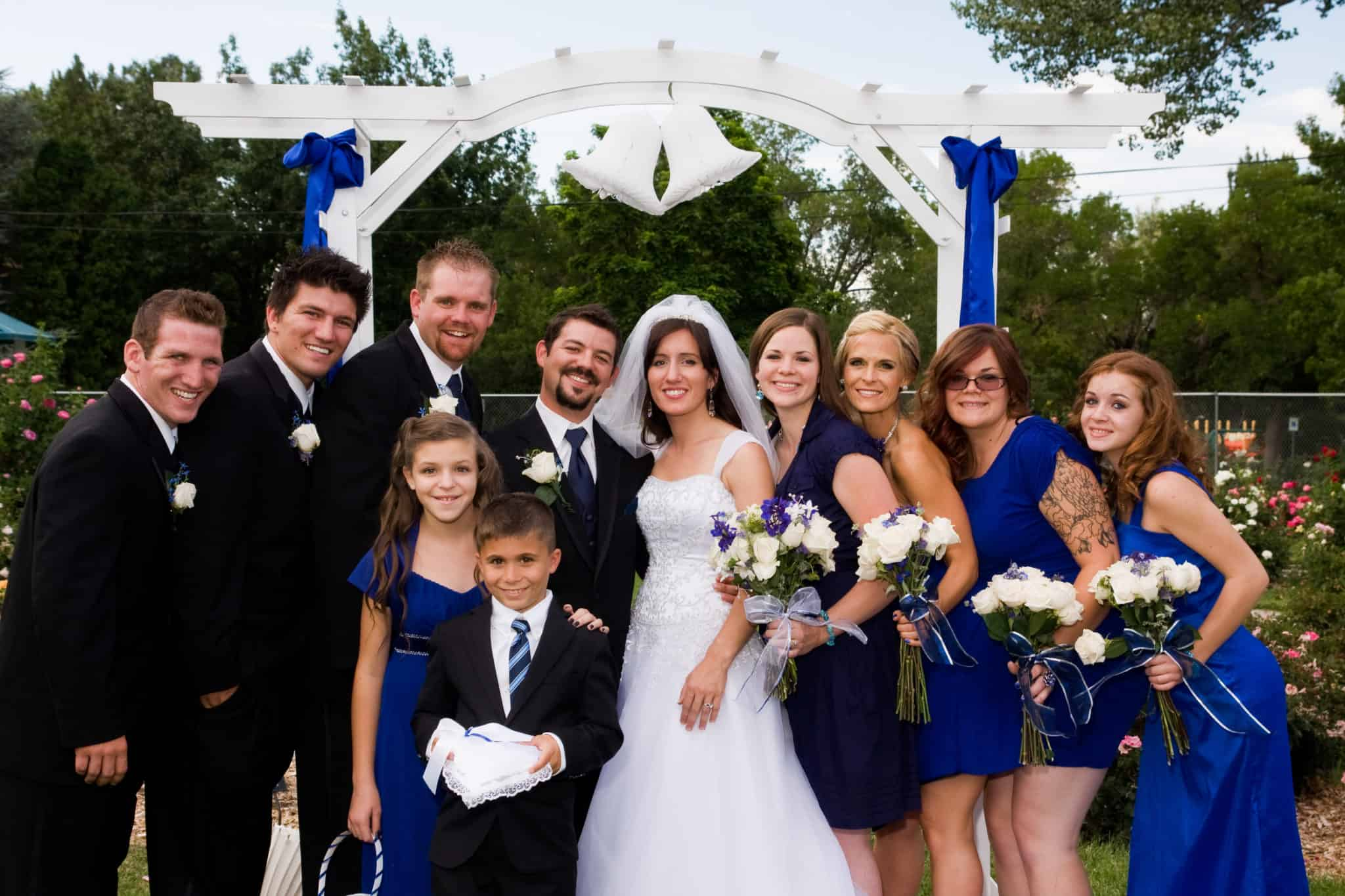 Wedding formals: bridal party